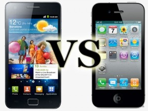Samsung Galaxy S2 VS iPhone 4s 300x225 Movilidad: resumen de 2012